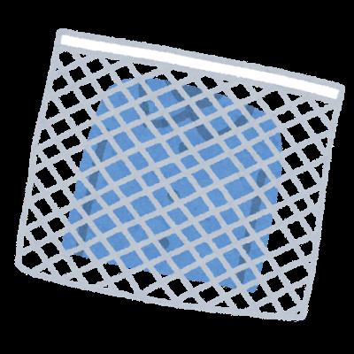 洗濯ネットを使った洗濯イラスト